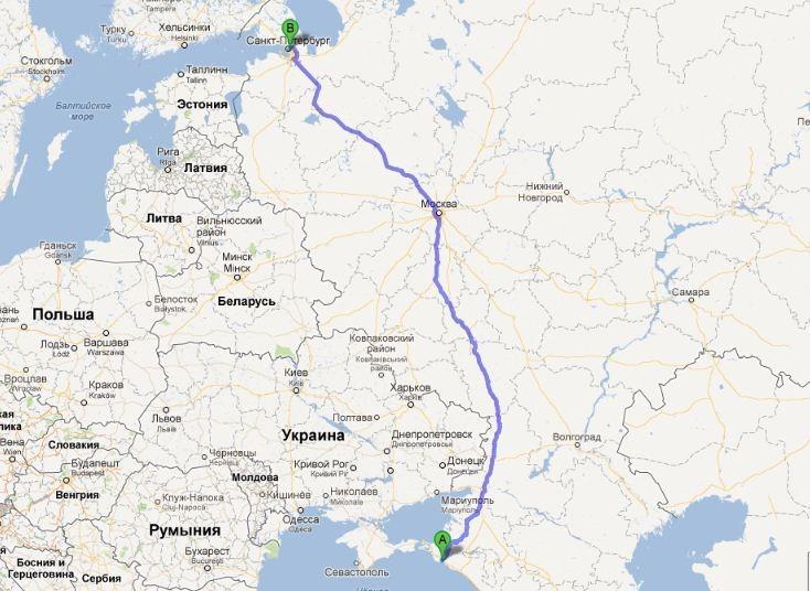 До 50 км от КАД - 1200 руб