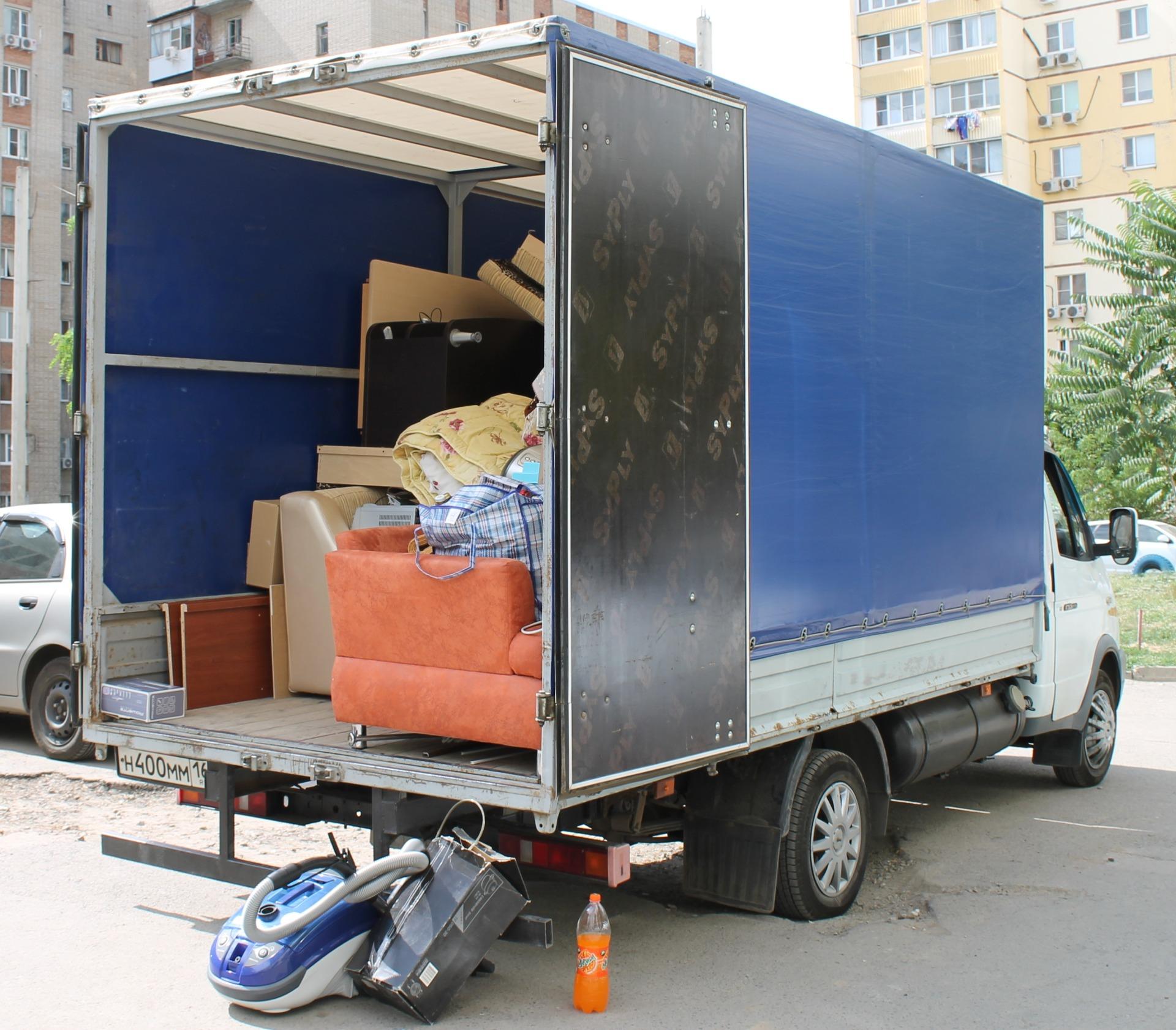 Квартирный переезд Краснодар - Москва