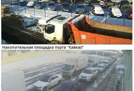 Обстановка на Керченской переправе в начале 2017 года