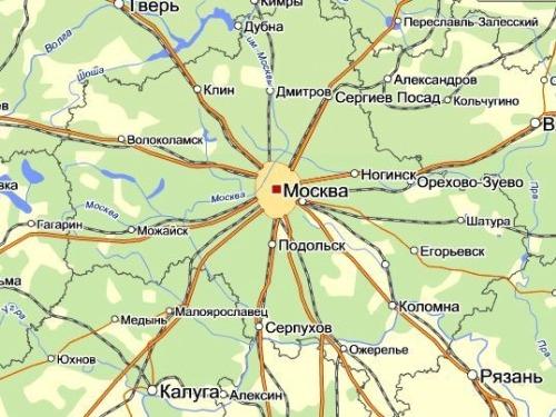 Грузоперевозки из Москвы в Краснодар